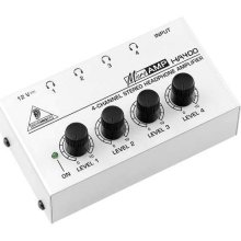 Headphone amplifier and distribution box